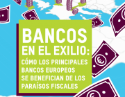 Portada de l'informe publicat el 27 de març. Font: Oxfam i Fair Finance Guide International