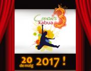 """Cartell del 3r Concurs Kabua """"Joves per canviar el món!"""" / Foto: Kabua"""