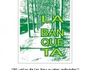 Cartell de l'exposició sobre els 25 anys de la Banqueta de Juneda (imatge: labanquetadeuneda.cat)