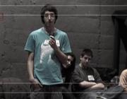 Joves del projecte BarriBook Tv d'Horta-Guinardó