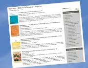 """Imatge de la nova secció """"Biblioteca"""" de xarxanet.org"""