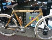Bicicleta de bambú. Font: Pixabay