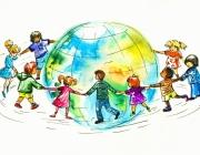 Rotllana multicultural. Font: blog d'Oxfam Intermón