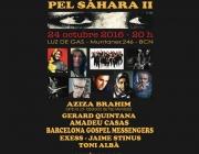 Cartell del concert solidari en suport al poble sahrauí. Font: APSS