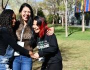 Abans d'entrar al projecte, la Laura, la Nihelly i la Sorayda es trobaven en una situació irregular. Font: Suport Associatiu. Font: Font: Suport Associatiu.