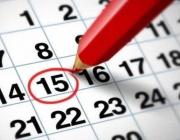 Imatge d'un calendari. Font: web gravidezebebe.com
