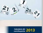 Imatge portada del calendari del contribuent 2013