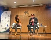 Abigail Blanco i Alfredo Bayón, ponents de la sessió