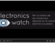 Imatge il·lustratiu captura del vídeo Electronics Watch