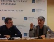 Presentació del Baròmetre del Tercer Sector 2016. Font: Suport Associatiu