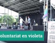 "Frame del vídeo ""Voluntariat en Violeta"""