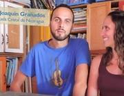 Mireia Serra i Joaquín Granados durant la seva estada a Nicaragua