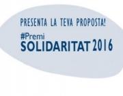 Premi Solidaritat 2016