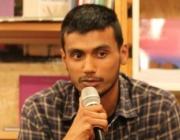 Zeshan Muhammad explicant la seva història