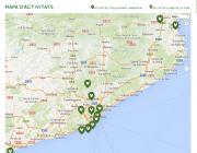 Al portal pots visualitzar activitats i crides de voluntariat arreu de Catalunya