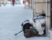 Persona sense llar (Font: Fundació Arrels)
