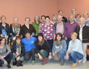 Grup de persones voluntàries de l'hospital de Palamós