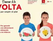 'Donem-li la volta per omplir el plat', la nova campanya de Creu Roja de Catalunya