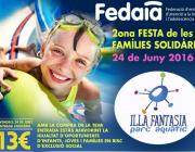 2a Festa de les famílies solidàries a Illa Fantasia