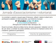 """Jornada d'associacionisme i voluntariat: """"Som aquí, sumant voluntats"""""""