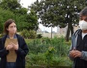 Marta García i Joan Gubern, de la Fundació Els Tres Turons. Font: Paula Gil