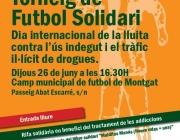 Futbol solidari amb les persones que pateixen addiccions
