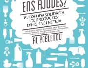 Recollida solidària de productes d'higiene i neteja al Poblenou