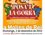 Posa't la gorra en solidaritat amb els infants amb càncer
