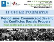 II Cicle Formatiu 'Periodisme i comunicació davant conflictes socials propers'