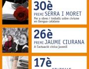 Cartell Premis de Civisme 2011. Font: Benestar Social i Família