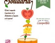 Cartell Tapa Solidària 2016.   Font: Fundació Canpedró