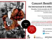 Imatge cartell concert benèfic