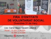 VII Fira d'Entitats de Voluntariat Social de Lleida