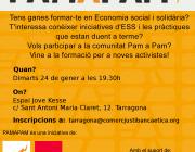 Cartell de la formació per a noves activistes de Pam a Pam al Camp de Tarragona. Font: Pam a Pam