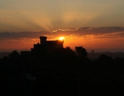 Castell de Castelldefels. Font: Pujada al Castell de Castelldefels