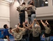 Sessió de formació amb els Castellers del Quebec