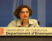 Meritxell Ruiz, consellera d'Ensenyament. Font: ccma.cat