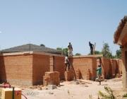 Construcció del centre de formació al Senegal (Font: CCD UPC)
