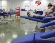 Persones donant sang