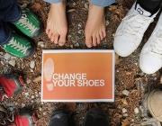 Acció de la campanya 'Canvia de sabates'. Font: Itfashion.com