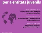Cartell cicle finançament europeu per a entitats juvenils