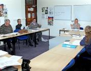 Classe d'adults de Deutsch Lernenden in Glossop (Flickr)