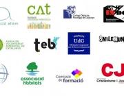 Logotips d'entitats col·laboradores de xarxanet.org