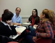 Trobada d'estudiants i joves professionals de relacions públiques a Buenos Aires. Foto: Marcos Gasparutti