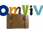 Logotip del projecte ComVivim de Creu Roja Manresa i l'ass. Bages per a Tothom