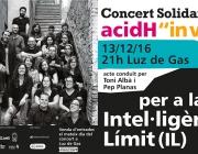 Concert solidari Clam per la Intel·ligència Límit
