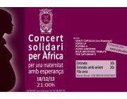 Concert Solidari per l'Àfrica