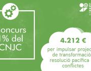 Imatge del Concurs 1% del CNJC