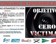 """VII Concurs de fotografia 2016 """"Peatón, no atravieses tu vida"""""""