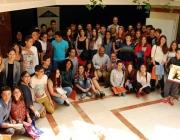Foto de grup de participants en el concurs
